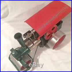 Wilesco D36 TOY STEAM ENGINE ROLLER Old Smoky / Vintage