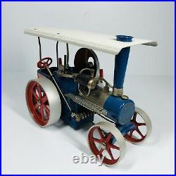 Wilesco D405 Dampftraktor Steam Engine Tractor Traction Engine Toy Model (SHLF)
