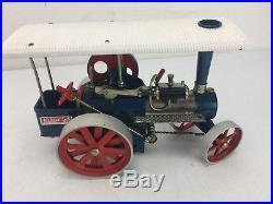Wilesco D405 TOY MECHANICAL STEAM ENGINE TRACTOR MADE IN GERMANY