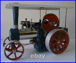 Wilesco D405 TOY STEAM ENGINE TRACTOR NEW + S&H FREE MADE IN GERMANY