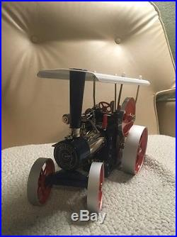 Wilesco D405 TOY STEAM ENGINE TRACTOR NEW With Remote Control MADE IN GERMANY
