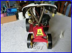 Wilesco D409 Showmans steam engine with lighting instructions toy steam
