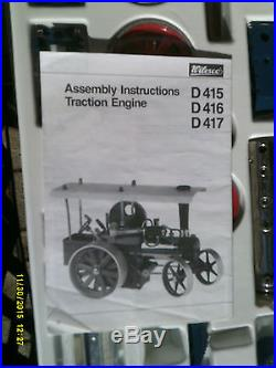 Wilesco D415 TOY STEAM ENGINE TRACTOR Kit NEW