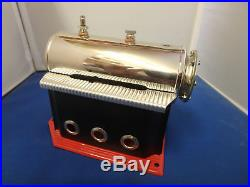 Wilesco D48 Boiler with Housing and Butane Tube Model Marine Toy Steam Engine