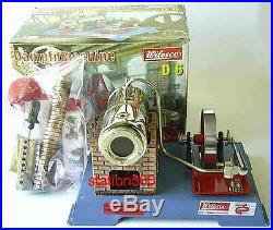 Wilesco D6 New Toy Steam Engine Must See