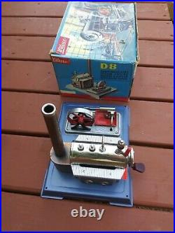 Wilesco D8 Live Steam Engine Made In West Germany vintage Dampfmaschine/toymodel
