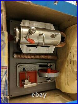Wilesco D8 Live Steam Engine Model Toy Vintage