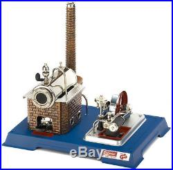 Wilesco D 10 Live Steam Engine Toy See Video Shipped from USA