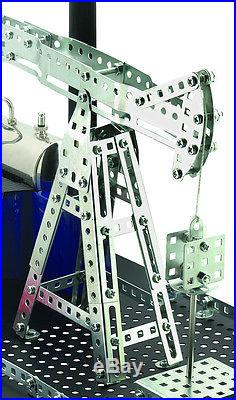 Wilesco D 11 Live Steam Engine Toy With Erector Kit- Shipped from USA