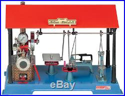Wilesco D 141 Live Steam Engine Toy See Video Shipped from USA