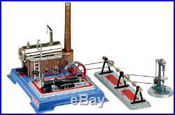 Wilesco D 165 Live Steam Engine Toy See Video Shipped from USA