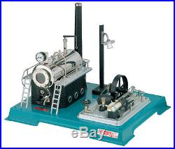 Wilesco D 18 Live Steam Engine Toy See Video Shipped from USA