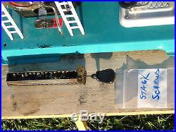 Wilesco D 18 Steam Engine Toy Model / Burner Tray / Light Plant / Whistle /Gauge