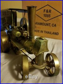 Wilesco D 36 Live Steam Engine Tractor, VINTAGE