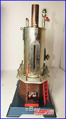 Wilesco D 45 Dampfmaschine Steam Engine With Box Made In West Germany Untested