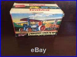 Wilesco Dampftraktor Steam Engine Tractor 60s Old Smoky steampunk Mint in Box