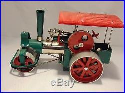 Wilesco'Old Smokey' D375 stream roller tractor, steam engine