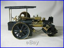 Wilesco Old Smoky Vintage Brass Black Steam Engine Roller Made In West Germany