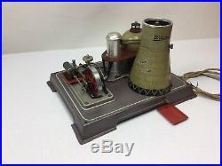 Wilesco R200 Atomic Power Plant, Live Steam Engine Toy, Original 1950's