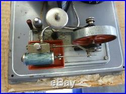 Wilesco R200 Atomic Power Plant Steam Engine Toy, Original 1950's WORKS