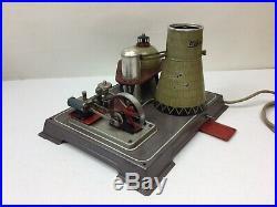 Wilesco R200 Atomic Power Plant Steam Engine Toy, Original 1950's WORKS GREAT