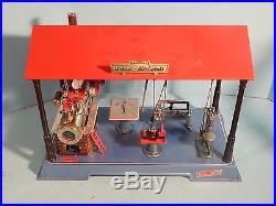 Wilesco Steam Engine #D141 Toy Unplayed with