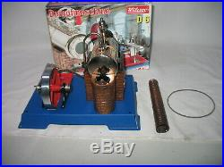 Wilesco #d 6 Steam Engine Plant Tin Toy Hobbies With Box
