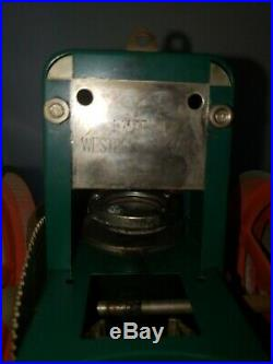 Wilseco D365 Toy Steam Engine Roller, West Germany