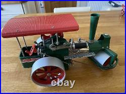 Wilsesco Old Smokey Traction Steam Engine D365 & Log Trailer A425 Boxed