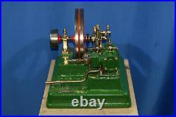 Working steam engine educational model Loft dampfmaschine NOT UK