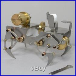 Worm Crawler Steam Engine Model Robot Steam Engine Model Crawler Engine Toy